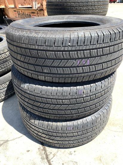 3 Michelin Tires 265/65R18