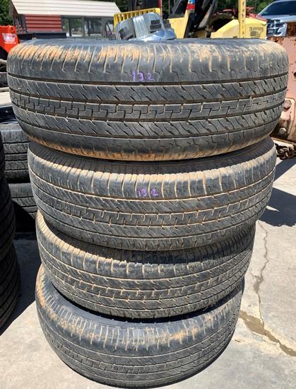 Set of 4 Chevrolet Wheels & Dextro Tires