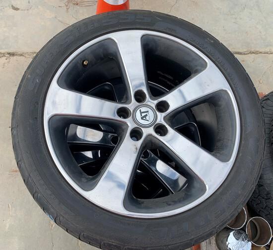 """5 lug 18"""" AT Italia Wheels (Set of 4)"""