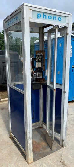 Phone Booth with Replica Crosley Phone