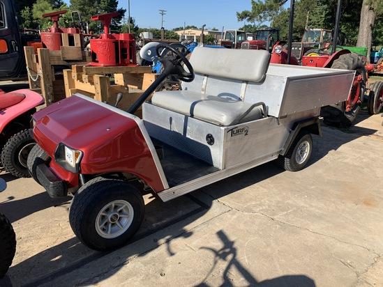 Club Car Golf Cart with Dump Bed Gas
