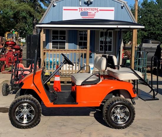 EZ GO Lifted Golf Cart 36 Volt