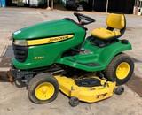 John Deere X340 mower