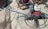 Honda Trowel Concrete Machine 11hp
