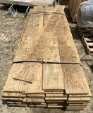 Approx 80 pcs treated 3/4 plywood