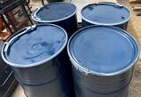 (Quanity of 4) Metal barrels
