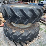 14-9-28 Front Duals Tractor Tires/wheels set of 2