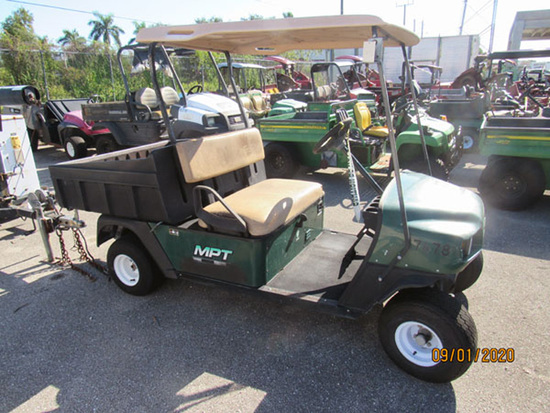 2004 E-Z GO MPT1200 Workhorse Golf Cart