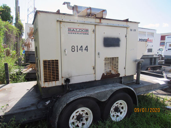 2006 Baldor Trailer-Mounted Generator