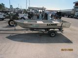 1998 Continental Boat Trailer & Lowe Aluminum Boat