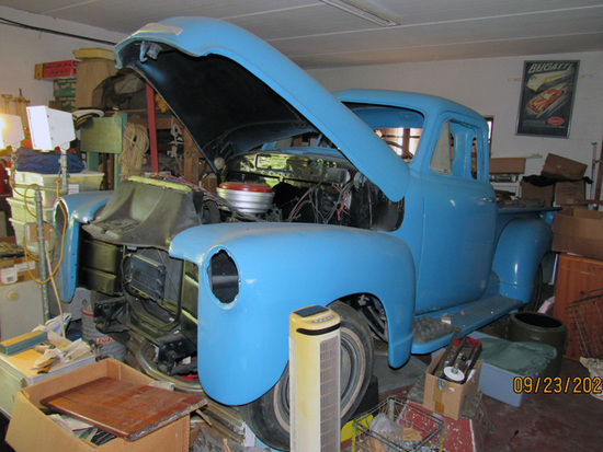 1952 Chevrolet 5-Window Pickup Truck