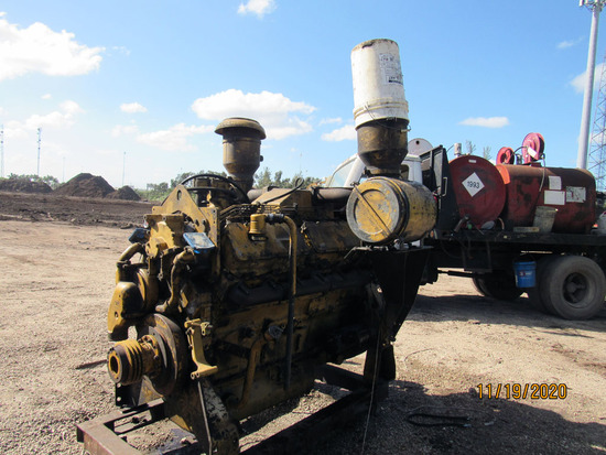 Caterpillar 3412 Diesel (Spare Engine)
