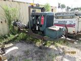 Trailer-Mounted Water Pump