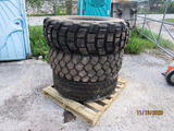 (3) Military Truck Tires