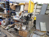 (2) Metal Storage Shelves