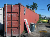 40 Foot Shipping Container - High Sides
