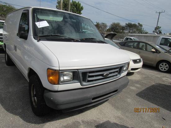 2003 Ford E-150 Econoline Cargo Van