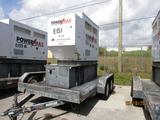 2007 Tandem-Axle Anderson Trailer & Emergency Generator