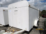1991 Sun Trailer Tandem-Axle Equipment/Landscape Trailer