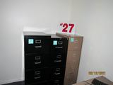 (3) 4-Drawer Filing Cabinet