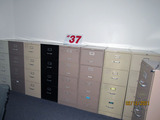 (9) 4-Drawer Filing Cabinets