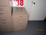 (1) 2-Drawer Filing Cabinet