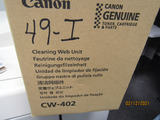 (1) Canon Cleaning Web Unit