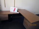 Executive Desk With Left-Hand Return