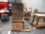 Assorted Cardboard Box Stock