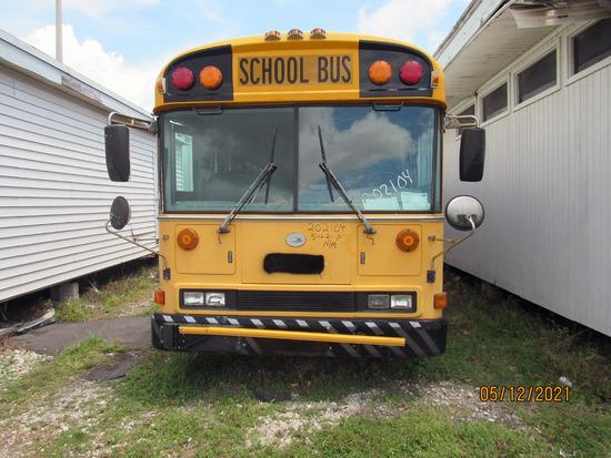 2002 Bluebird School Bus