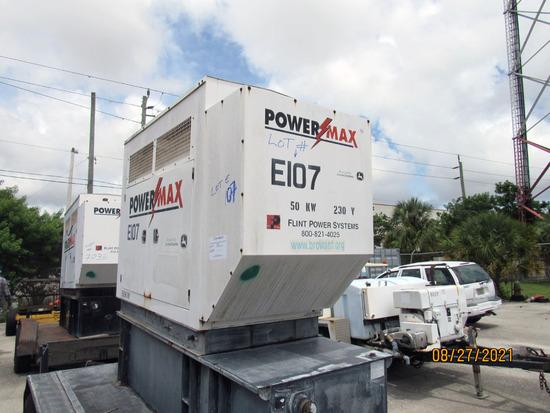 2006 POWERMAX 50KW EMERGENCY GENERATOR