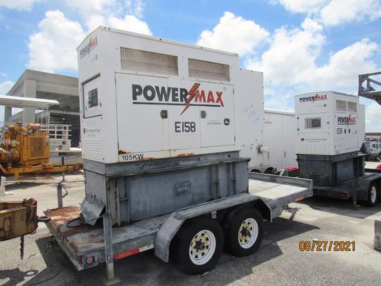 2006 POWERMAX 105KW EMERGENCY GENERATOR