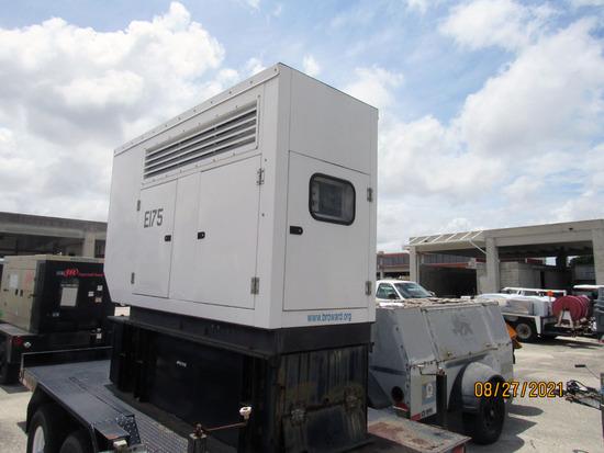 2008 POWERMAX 80KW EMERGENCY GENERATOR