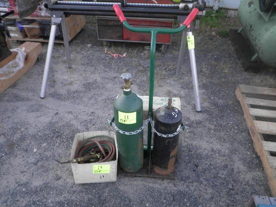 Torches & Cart