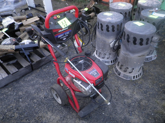 MURRAY 2800psi Pressure Washer