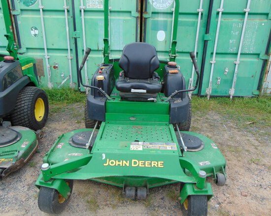 JOHN DEERE 997 Z-Track Mower, dsl, 6' Mower Deck, 2584 hrs, s/n:TC997SCO56346