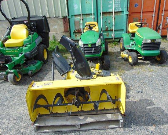 JOHN DEERE D105 Auto Yard Tractor w/42'' Mower Deck & 44'' Snowblower