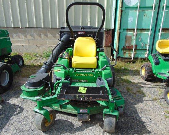 JOHN DEERE Z850A Mower w/Bagger, 2559 hrs, s/n:TCZ850A020212