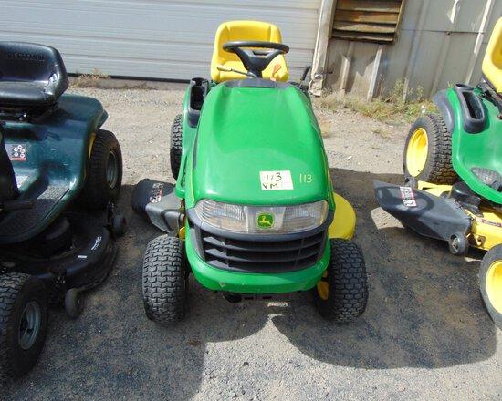 JOHN DEERE 115 42'' Lawn Mower, Auto