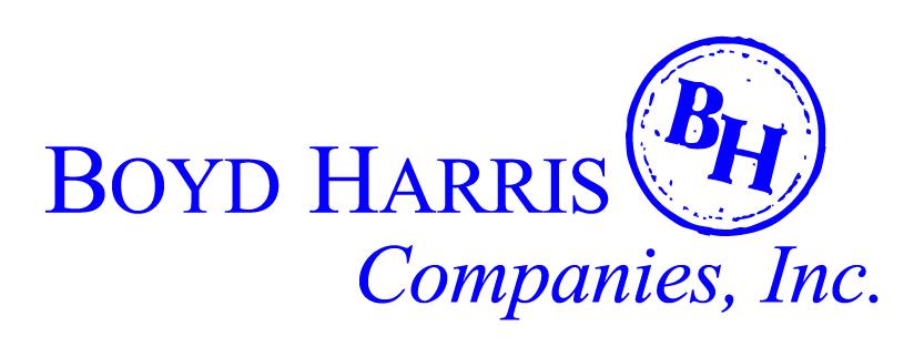Boyd Harris Companies, Inc.