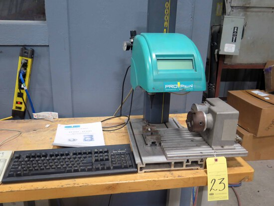 MARKING MACHINE, PROPEN MDL. P3000, new 2007, Mdl. DP3000 rotary table, S/N
