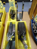 LOT OF INSERT TOOLHOLDERS, assorted  (in three boxes)