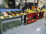 LOT OF WORKBENCHES (3), assorted  (cannot be removed until contents have be