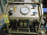 AIR PRESSURE TEST STAND, PARKER, up to 35,000 PSI