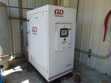 ROTARY SCREW AIR COMPRESSOR, GARDNER DENVER, 25 HP motor, dryer & air recei