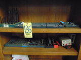 LOT OF SET-UP TOOLING, w/bookcase