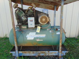 RECIPROCATING AIR COMPRESSOR, CHAMPION, 2-stage