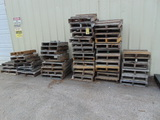 LOT OF ASSORTED PALLETS