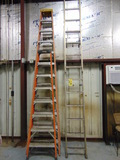 LOT OF LADDERS, assorted