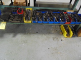 LOT CONSISTING OF: assorted hold-downs & stud sets  (under one bench)